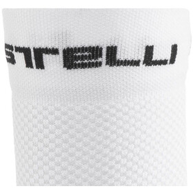 Castelli Free 9 Socks, white